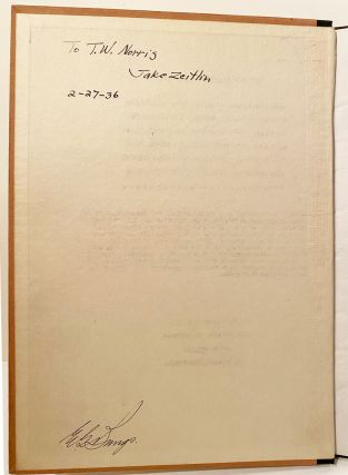 The American Conquest of California. Being the Private and Public Papers of Archibald Hamilton Gillespie, Special Messenger from the president of the United States to Fremont (SIGNED)