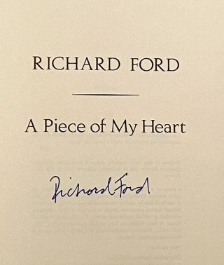 A Piece of my Heart (SIGNED)