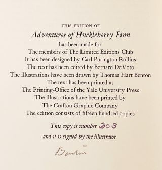 The Adventures of Tom Sawyer [with] Adventures of Huckleberry Finn