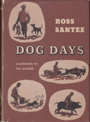 Dog Days (INSCRIBED, with original watercolor)