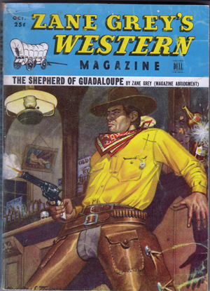Zane Grey's Western Magazine (Jo Mora story & illustrations