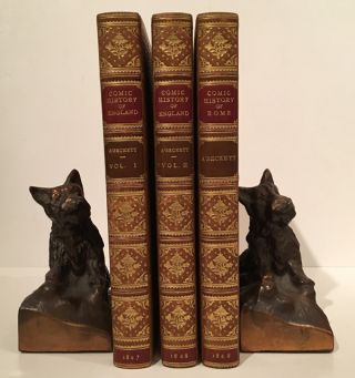 The Comic History of England (2 volumes); The Comic History of Rome (1 volume). Gilbert Abbott...